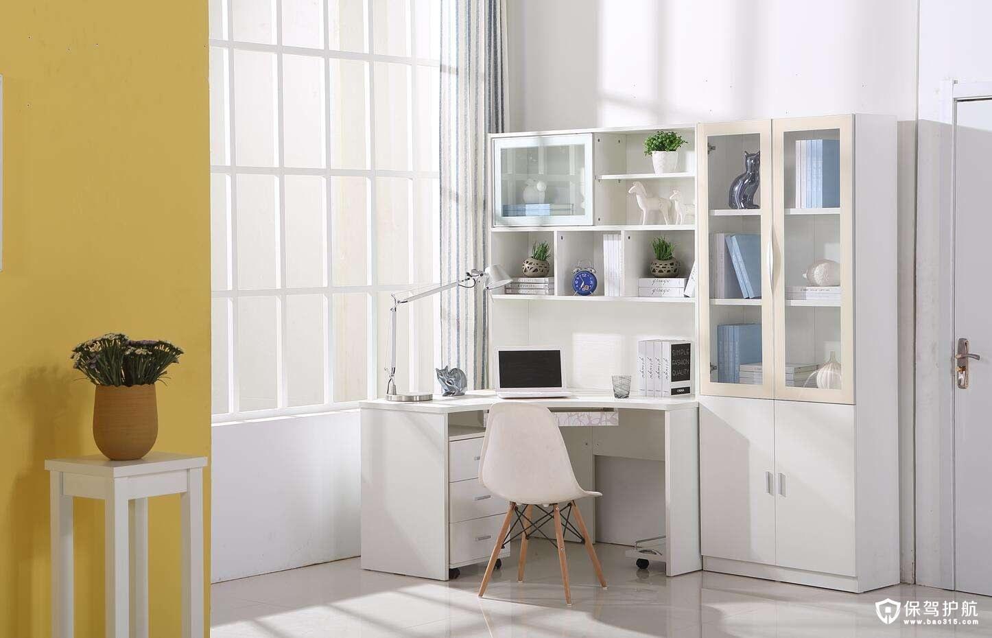 书桌书柜一体组合设计怎么样