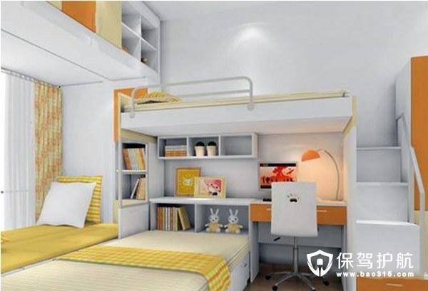 四种多功能卧室书房装修案例,多功能卧室书房如何装修