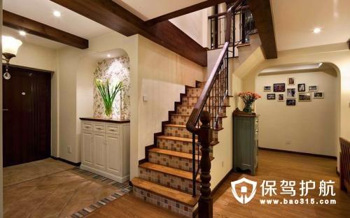 复式住宅玄关设计 复式楼进门装修