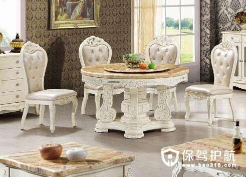 大理石餐桌选购技巧,大理石餐桌保养方法