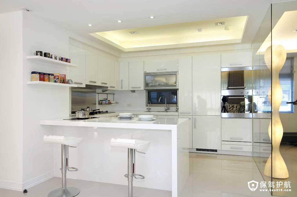 开放式厨房吧台如何设计,设计开放式厨房吧台的技巧