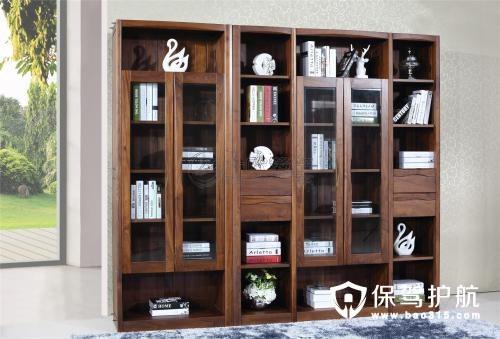 中式书柜四大特点