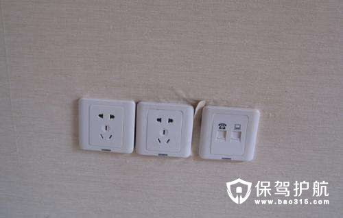 弱电插座的安装布局