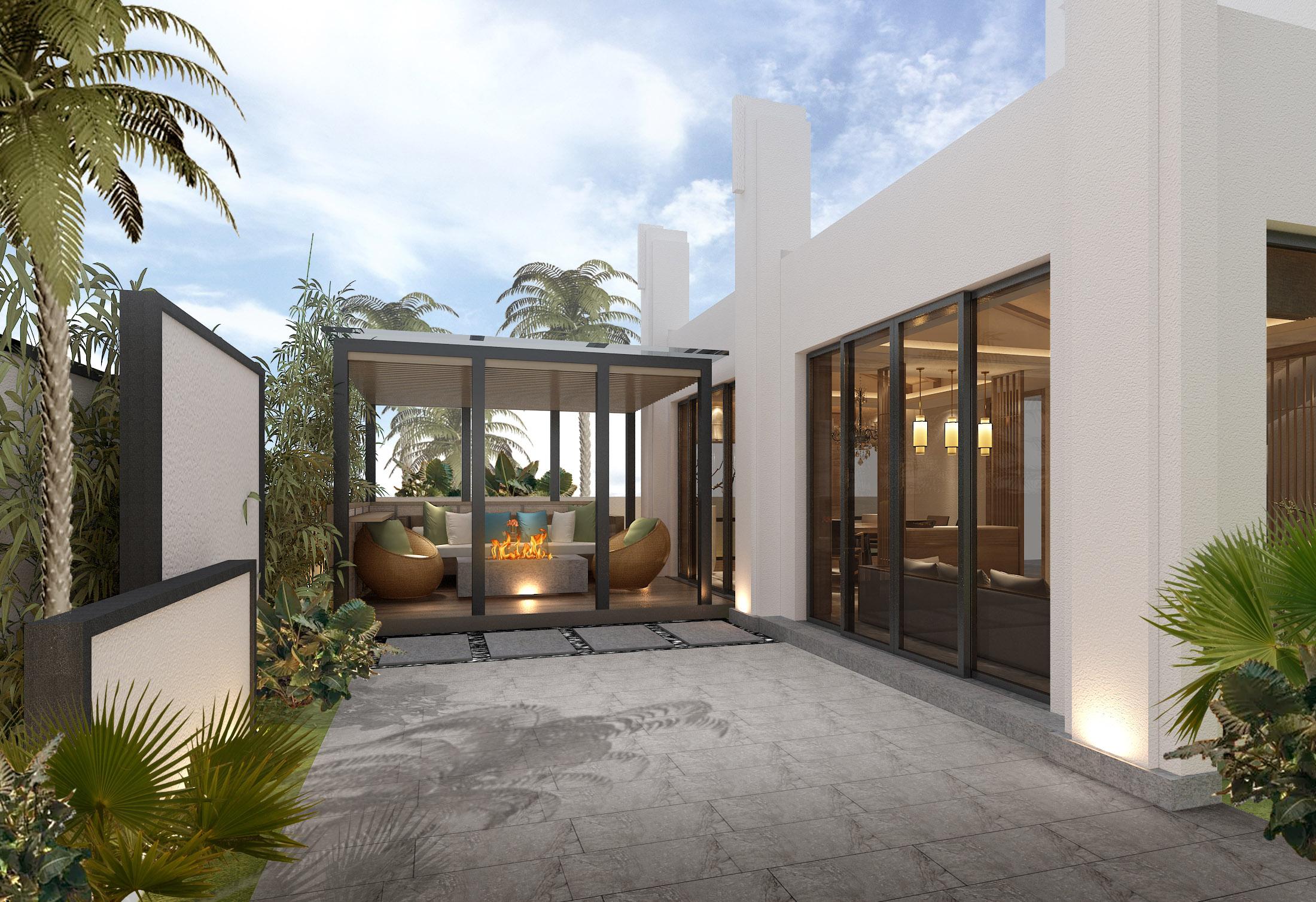 中式别墅设计、施工