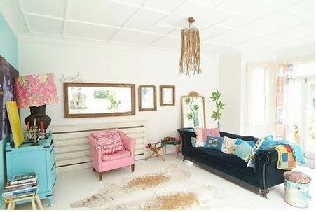 电视背景墙的设计方法 反映了客厅装修的效果