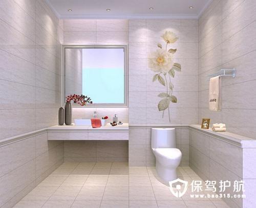 如何用地砖把卫生间装修出格调,卫生间地砖的选购技巧