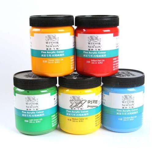 丙烯颜料用什么稀释,丙烯颜料的用途