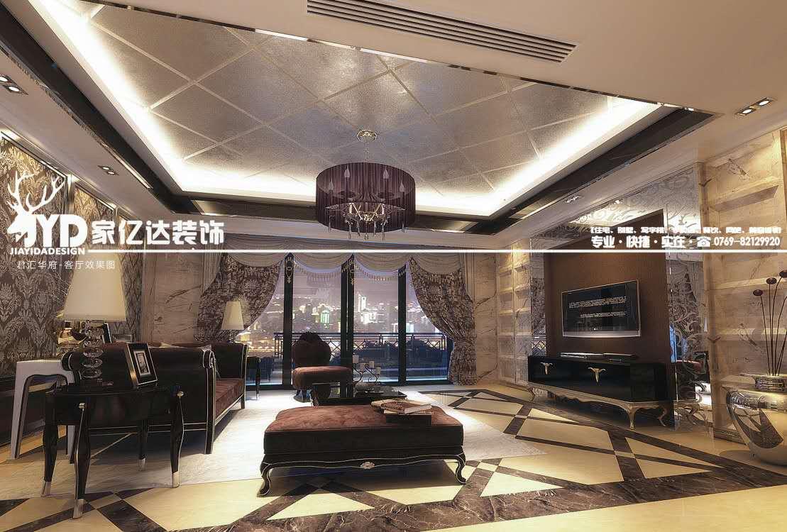 豪华优雅的住宅装饰