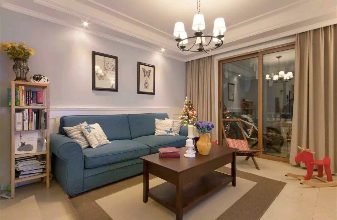 89平两室,美式混搭,奢华又舒适的家!