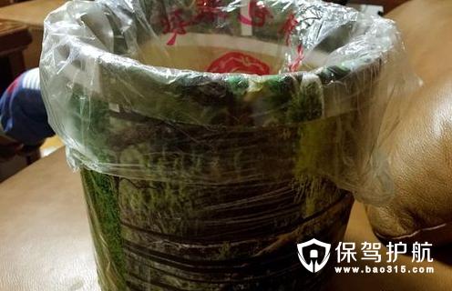 旧物改造垃圾桶制作方法