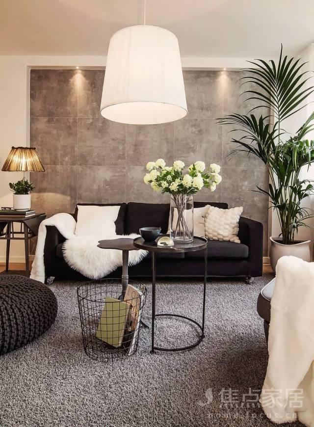 沙发背景墙,惊艳一个家