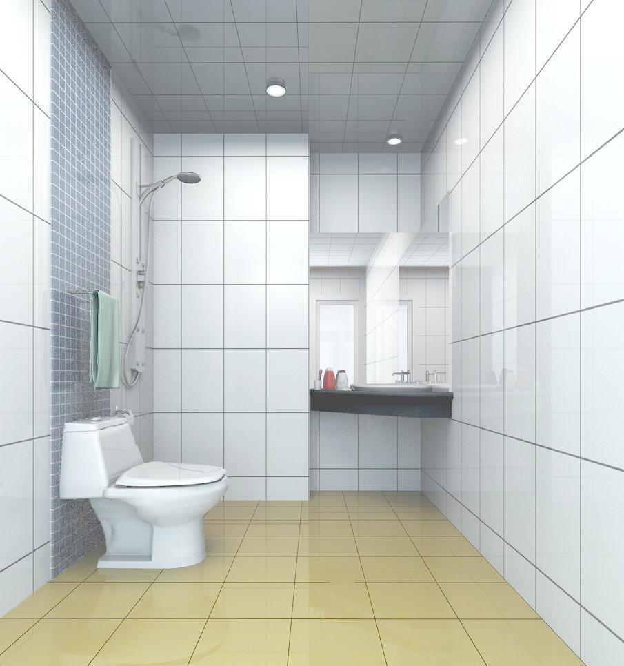 卫生间瓷砖铺贴详解