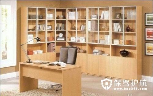 2018新款书柜效果图 书房家具设计