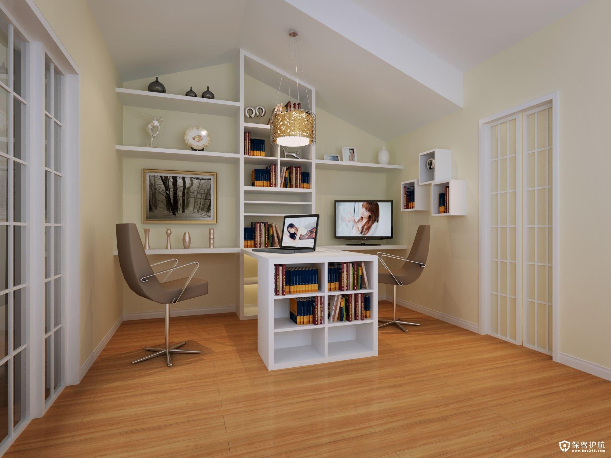 安静的书房如何布置才好?