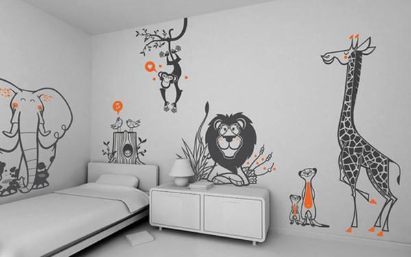手绘墙的五个设计要点