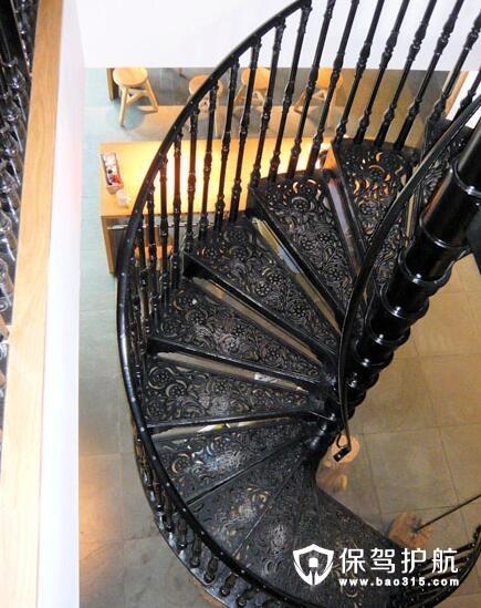 铁艺楼梯扶手图片有哪些和安装技巧