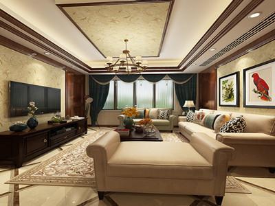 低调奢华三房,美式风格!