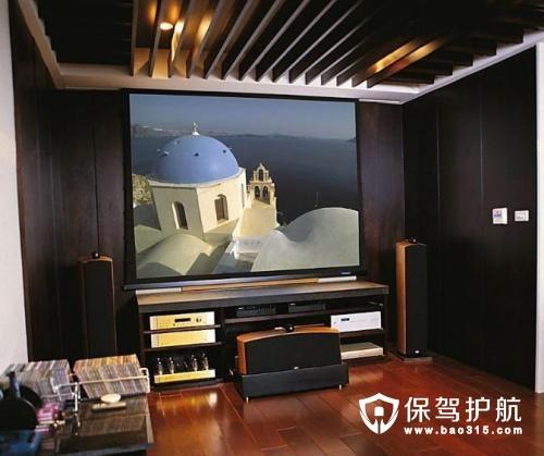 家庭影院装修效果图有哪些及其装修技巧