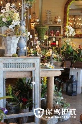 花店装修效果图和创意装饰