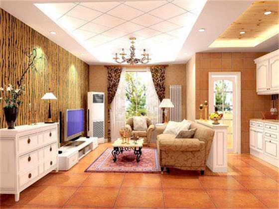 用色彩打造美式家居里的欢乐颂