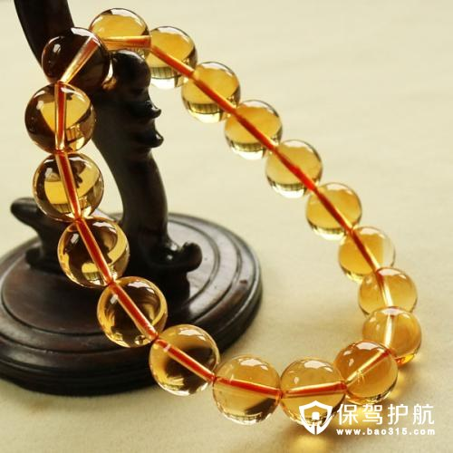 黄水晶的功效与作用及其手链佩戴禁忌