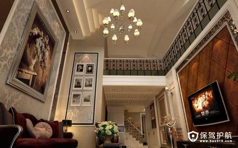 欧式古典风格楼中楼