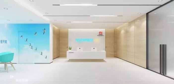连华为阿里都点赞的网讯电通公司,3000㎡深圳办公室装修设计