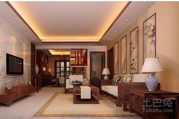 中式客厅装修注意事项图片
