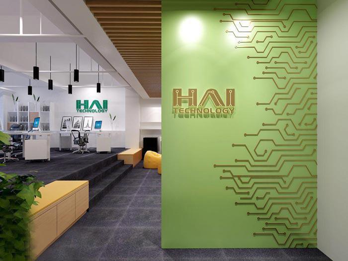 南亚风情第壹城200平小型办公室装修设计效果图