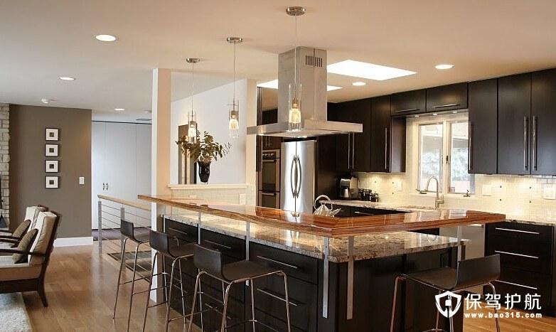 吧台式厨房的优势跟设计要点是什么