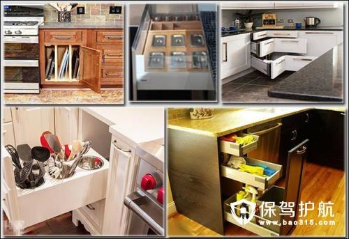 厨房拉篮的特点和选择注意事项