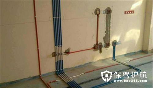 家装水电施工图安装步骤解析