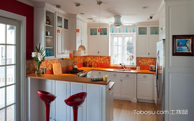 厨房装修设计效果图,看完这些还不赶紧给你家设计一个图片