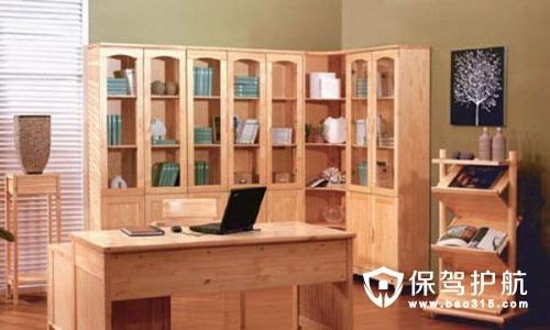 转角书柜设计效果图