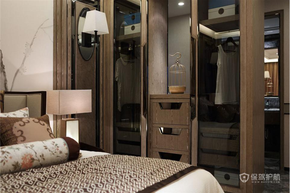 古色古香中式卧室装修效果图