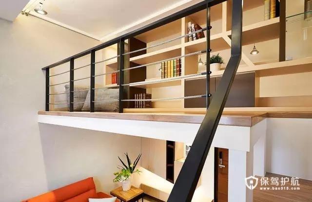 55平现代loft暖家 