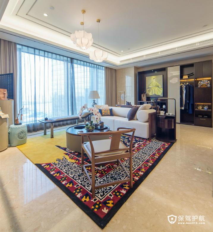 中式客厅 客厅背景墙 客厅装修
