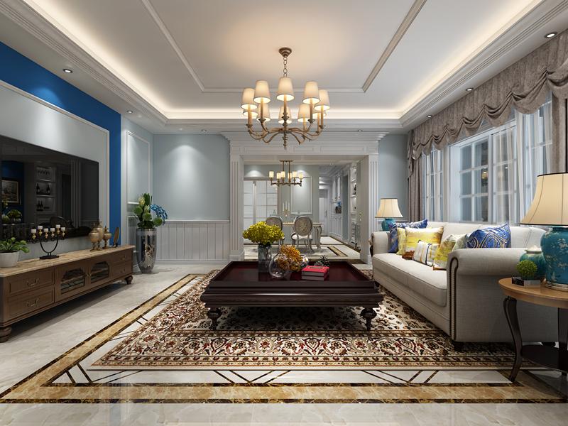 生活家 中信国际公寓 简美风 装修