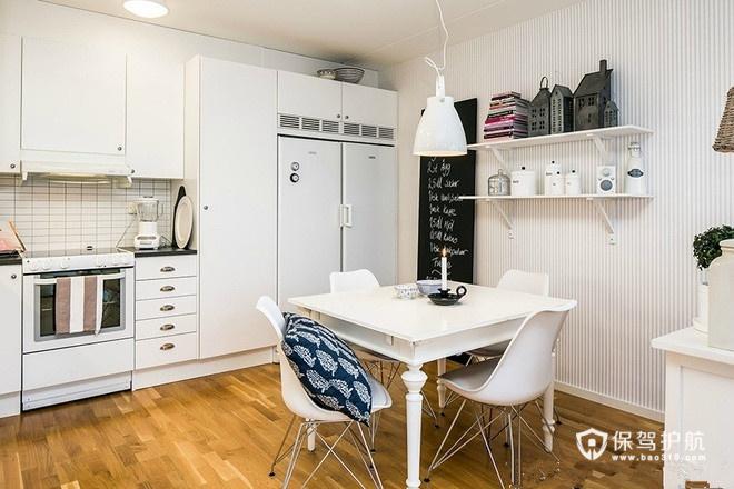 42平简约风格小公寓 开放式厨房