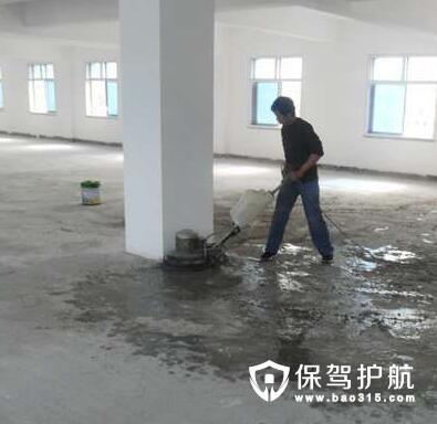水泥地板漆的产品种类和起泡根源