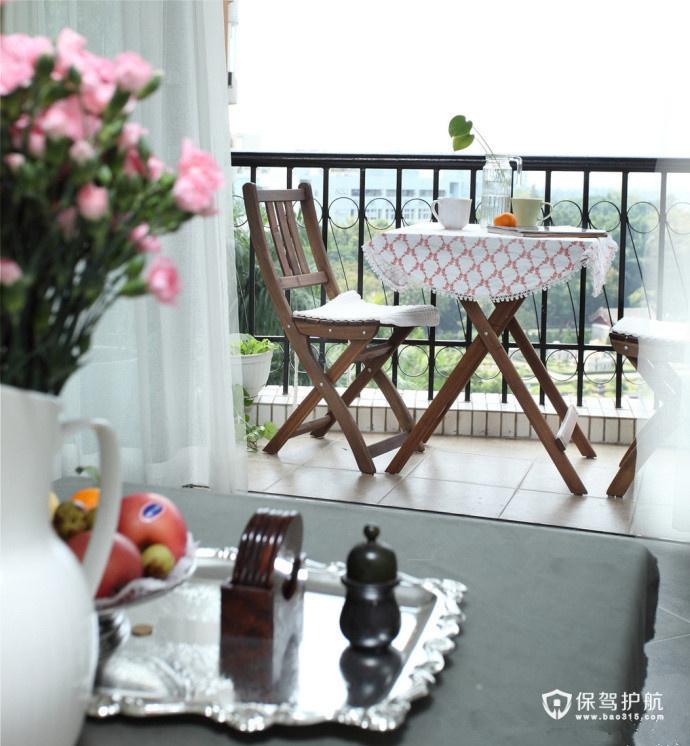 花园阳台  一组实用阳台设计