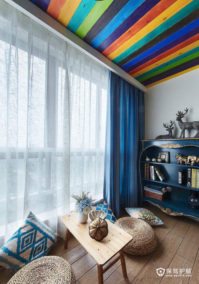 放松身心的彩虹阳台  一组实用阳台设计