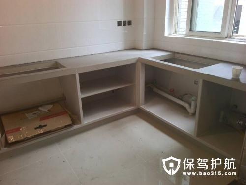 砖砌橱柜怎么安装