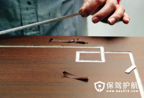 木纹纸的定义和粘贴方法