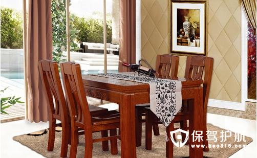 家用实木餐桌的材质对比和价格参考