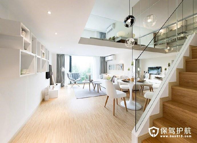 简约复式公寓楼梯