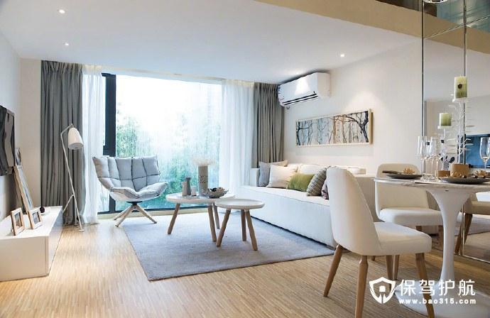简约复式公寓
