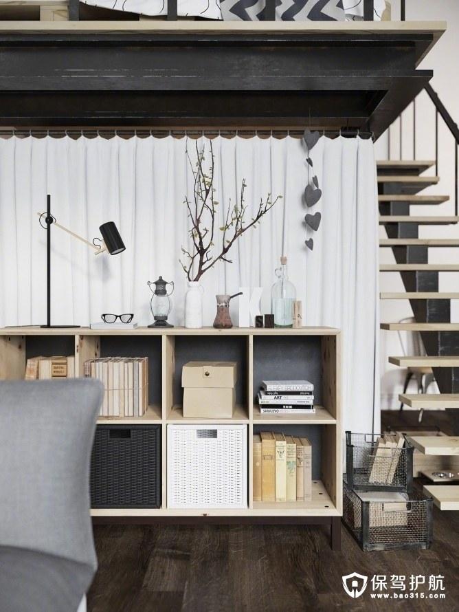 工业风一居室小户型设计