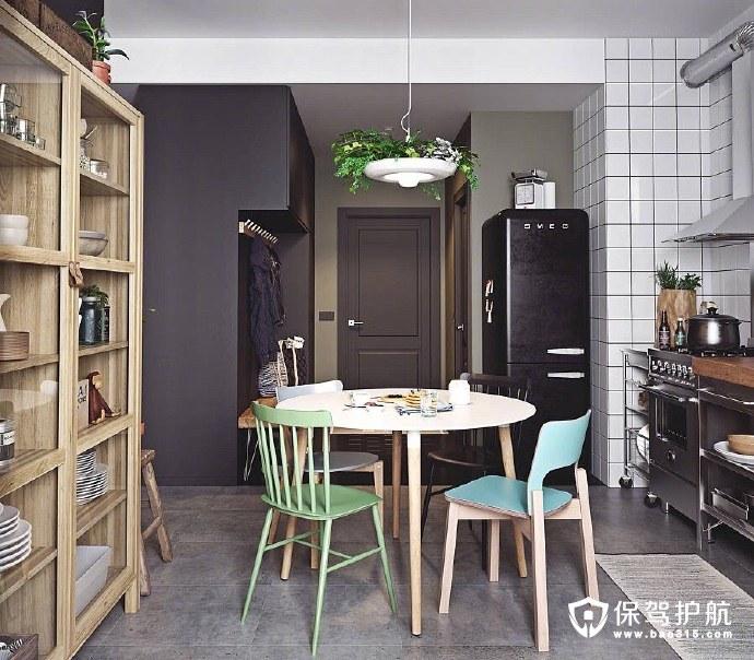 简约整洁的公寓格调