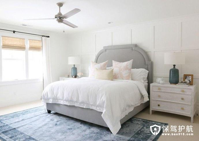 清爽又活力的卧室装修